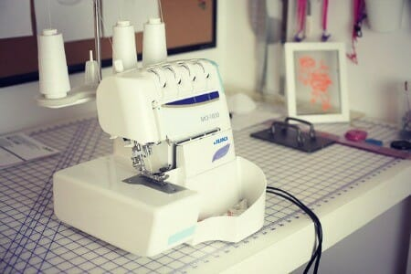 Sewing machine sergers.